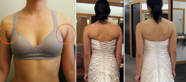 how to get rid of the armpit fat before your wedding day...seriously!