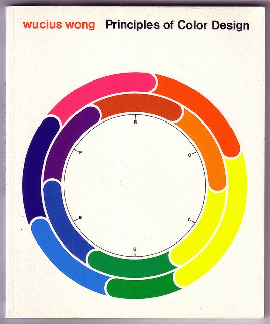 Color Principle Of Design : Best images about couleur cercle chromatique on
