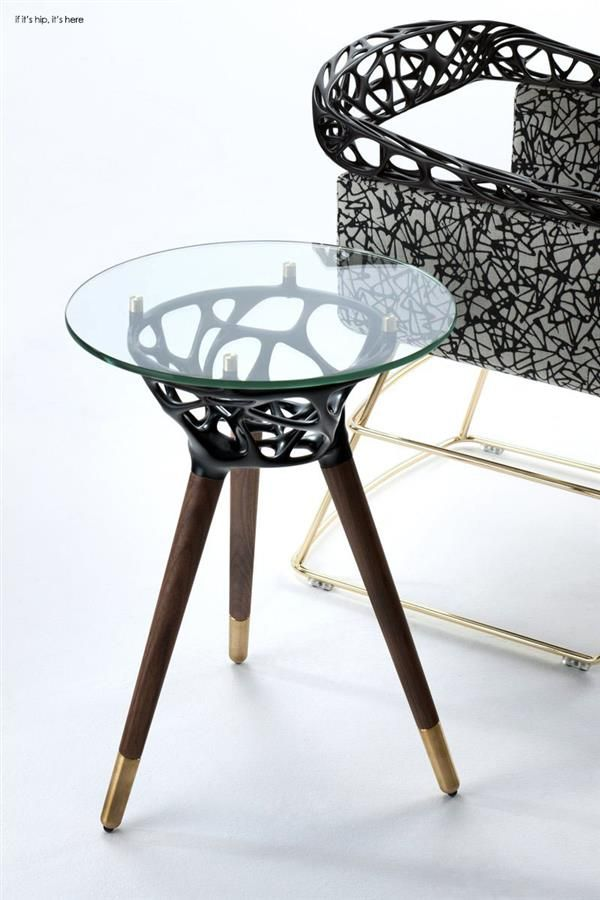 3ders.org - An algorithm and 3D printing ensure 'Rio' furniture remains unique and timeless | 3D Printer News & 3D Printing News