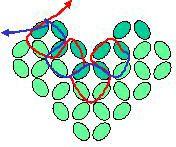 Schéma du Collier Boules en Perles