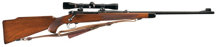 Pre-64 Winchester Model 70 Super Grade Bolt Action Rifle with Scope