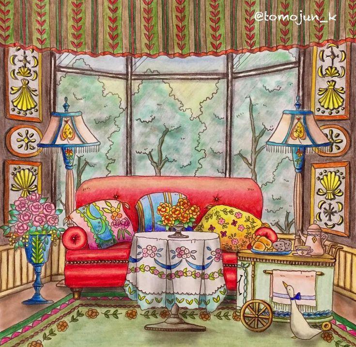 ・ 赤いソファ塗るの楽しかったです でも、クッションから塗ったのはちょっと失敗 カラフルすぎました 行き当たりばったりで塗ってるのでいつもこんな事になってます✨ ・ ・ #大人の塗り絵#コロリアージュ#ロマンティックカントリー#ロマンティックカントリー3#romanticcountry #エリー#eriy #colouringbook #colouring#adultcoloringbook #adultcoloring #coloriage #ロマカン#ソファ#おとなのぬりえ#大人のぬりえ ぬり#油性色鉛筆#色鉛筆#romanticcountry3