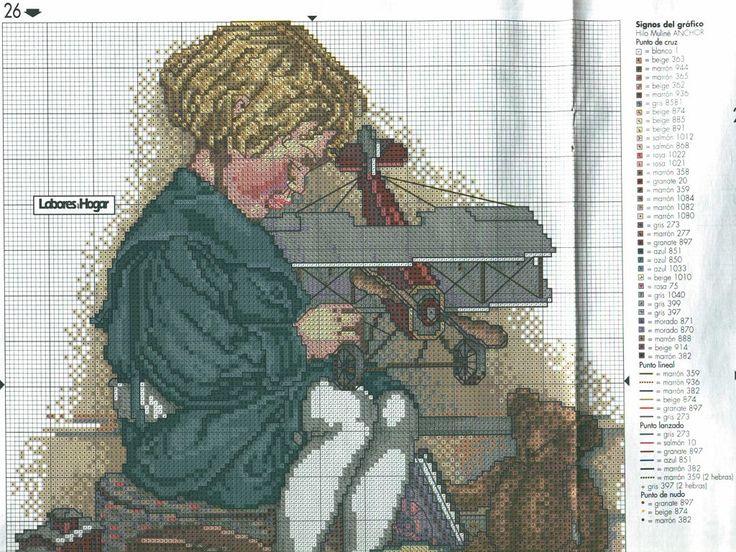 tengo muchos patrones de punto de cruz. (pág. 214) | Aprender manualidades es facilisimo.com