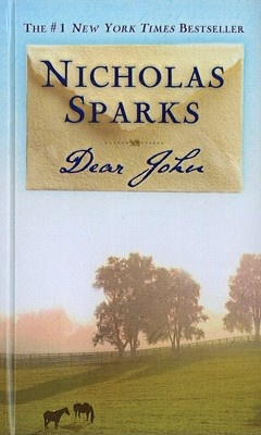Dear John: I absolutely loved this book. This book was the first book that I read that moved me to tears, ever!! It's about a long distance relationship and the obstacles that come their way when they are apart.