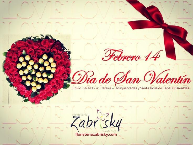 Porque cualquier motivo es una excusa para celebrar el AMOR!!!  Celebra este 14 de febrero el día de San Valentín con las más hermosas rosas y detalles del Eje Cafetero. Domicilios GRATIS a Pereira, Dosquebradas y Santa Rosa de Cabal (Risaralda) en tus compras online. Visítenos en floristeriazabrisky.com                              #february14 #valentinesDay #sanvalentin #valentines #love #amor #rosas #redroses