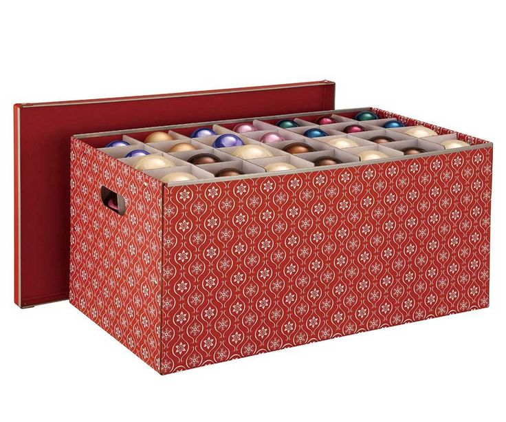 138 best images about christmas organization storage on for Xmas decoration storage boxes