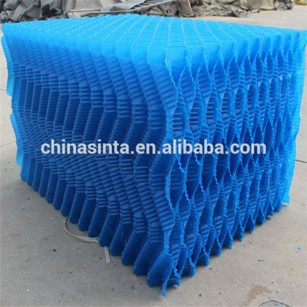 Blue S Wave Cooling Tower Film Fill Block Cooling Tower S Wave