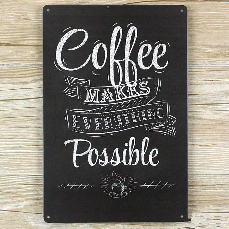 Coffee Life vintage decor metal signs wall sticker home decor metal painting 20cm*30cm home cafe pub wall decoration art poster