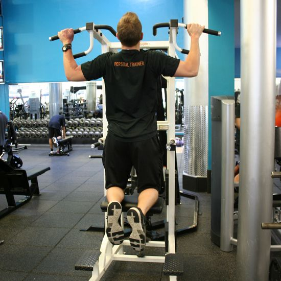 Ease Your Way Up: Assisted Pull-Ups