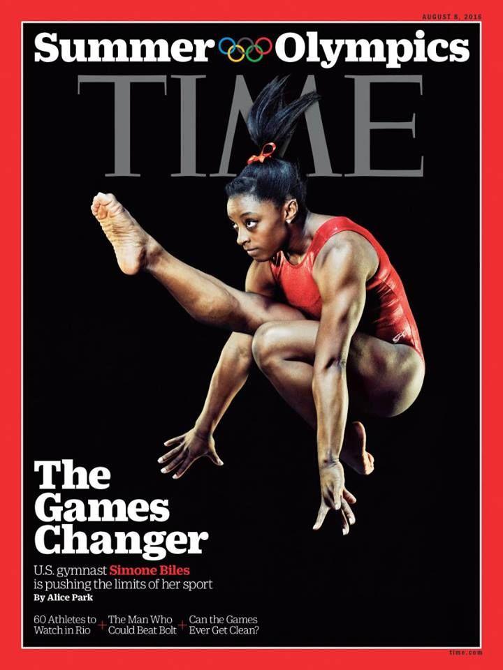 TIME Magazine - Simone Biles