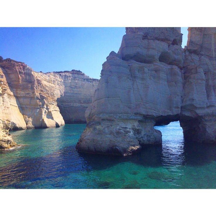 Milos Greece - kleftiko caves