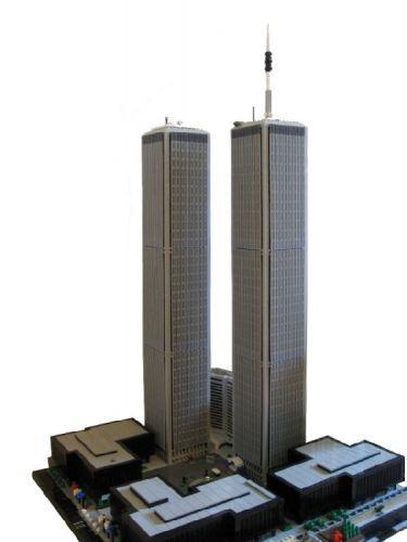 World Trade Center, New York: A LEGO® creation by Spencer R. : MOCpages.com