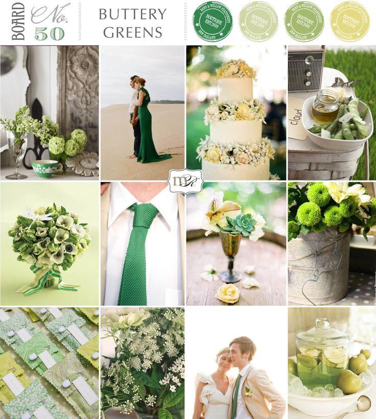 Magnolia Rouge  Board 50  Buttery Greens · CasamientoVerdeBodaTonos ... 0d84f0143bce