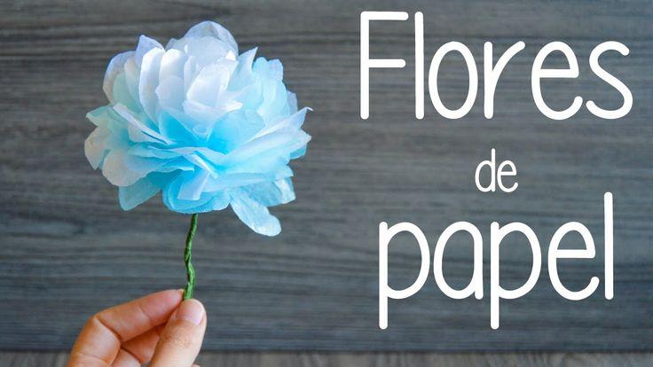 3 ideas para hacer diferentes flores de papel: amapolas, flores de colores y margaritas. Son fáciles, preciosas, baratas y rápidas de hacer. Perfectas para c...