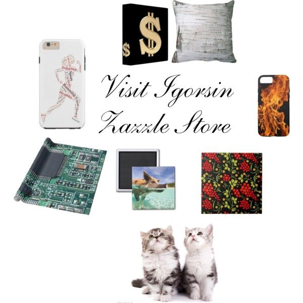 Take a look at Igorsin Zazzle Store. Zazzle Product by ziernor on Polyvore featuring art