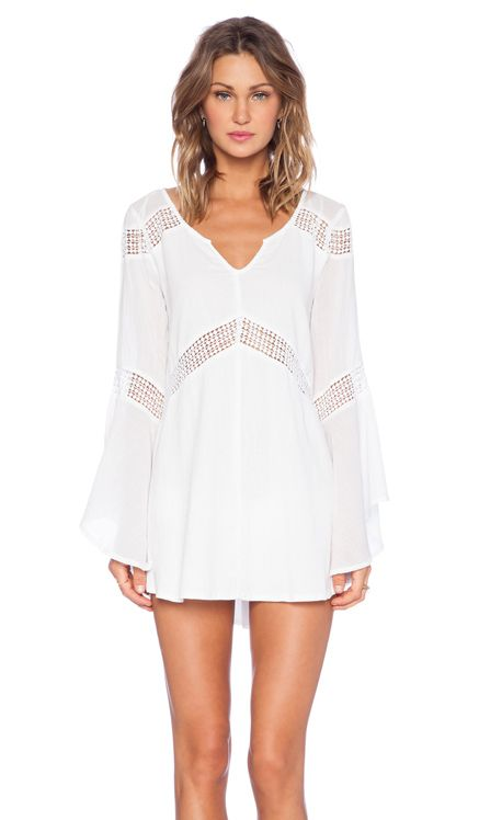 L*SPACE Bloomfield Tunic in Ivory | REVOLVE