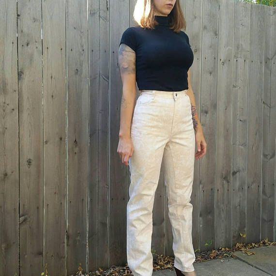 Check out this item in my Etsy shop https://www.etsy.com/listing/547825416/vintage-1980s-calvin-klein-high-waisted