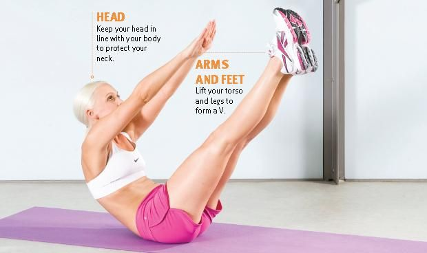 FitnFoodie.com - Workout - Waist exercises for women
