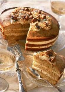 Recette de Gâteau au café et aux noisettes