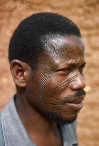 Criticising write Facial scarring in fulani tribe