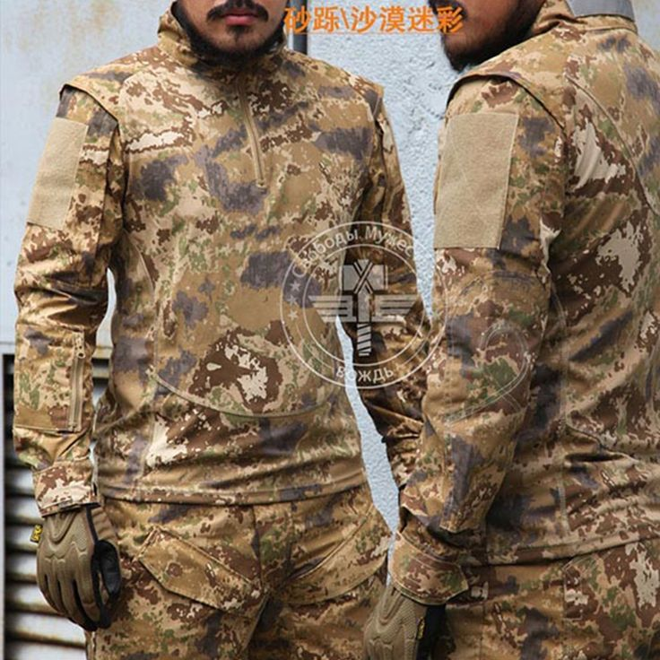 77.58$  Watch now - http://alibvr.shopchina.info/1/go.php?t=32784706494 - 65/35 Rip-Stop Army Combat Uniform Tactical Set US Army Military Uniform All Terrain Sand Move Camouflage Suit  #aliexpress