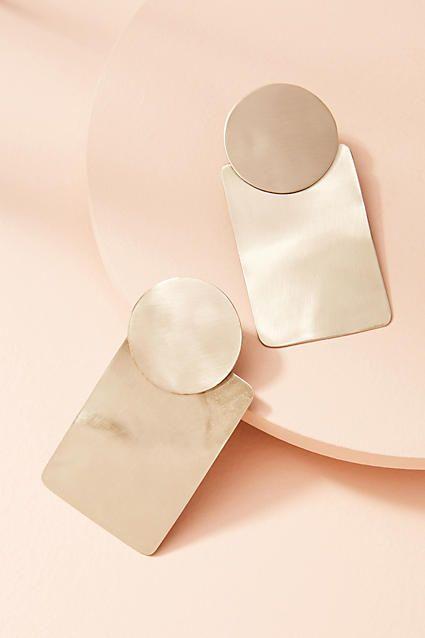 Sibilia Cylinder Drop Earrings