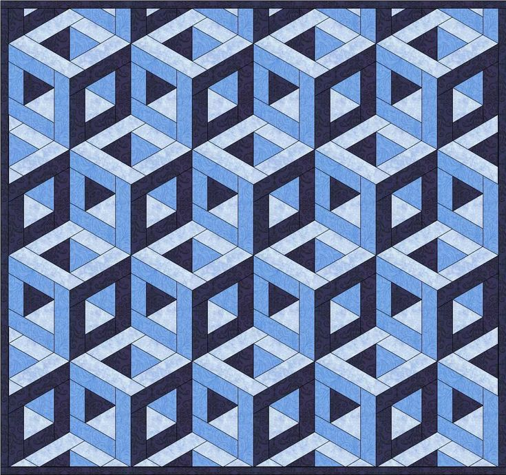 158 best 3D Quilts images on Pinterest | Crafts, Cushions and ... : 3d quilt designs - Adamdwight.com