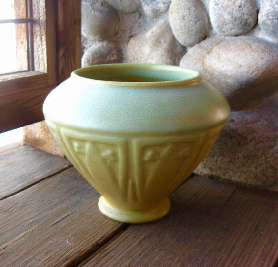 Large Rookwood Pottery Jardiniere Vase by RiverHouseArtPottery