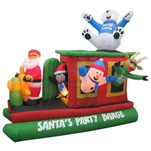 CHRISTMAS DECORATION LAWN YARD INFLATABLE AIRBLOWN ANIMATED SANTA'S PARTY BARGE 7 1/2' TALL CHRISTMAS INFLATABLES At The Neighborhood Corner Store,http://www.amazon.com/dp/B00GAGH8S0/ref=cm_sw_r_pi_dp_TgaNsb0PBF96S42F