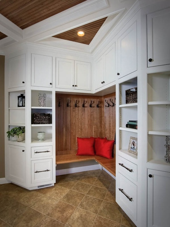 Some Smaller Shelving For Mail Organization. Storage U0026 Closets Photos  Mudroom Design, Pictures, Remodel, Decor And Ideas