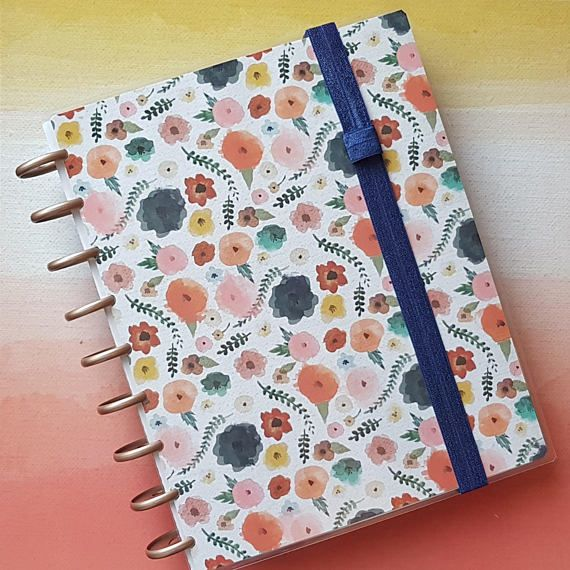 Happy Planner covers and elastic band