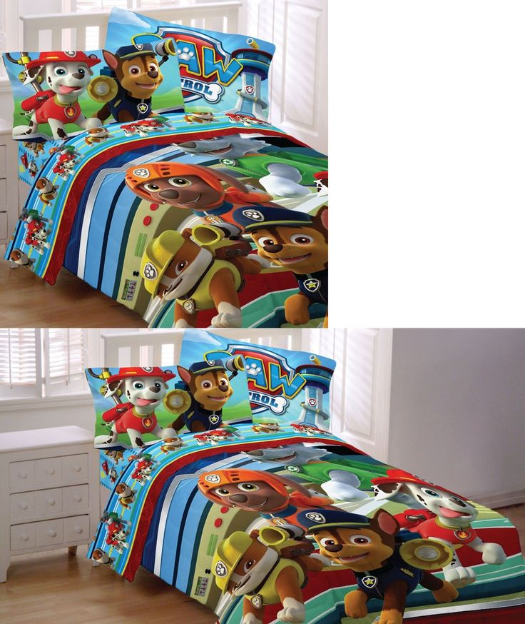 Bedding Sets 66731: New Paw Patrol Bedding Set - Puppy Hero Chase Marshall Comforter Sheets -> BUY IT NOW ONLY: $79.99 on eBay!