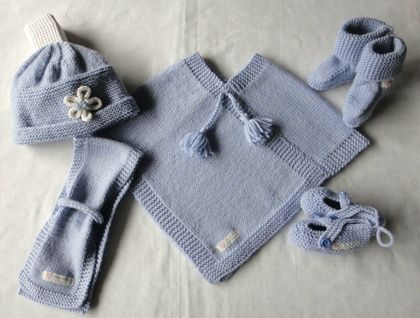 Baby  Poncho 3 - 12 months