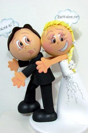 fofuchas como regalo de bodas!