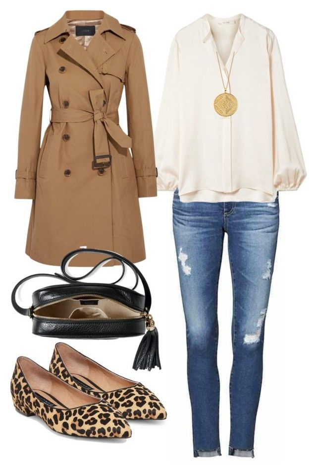 """""""Senza titolo #1384"""" by misty08 on Polyvore featuring moda, AG Adriano Goldschmied, The Row, Steven by Steve Madden, J.Crew, Gucci e Monica Vinader"""