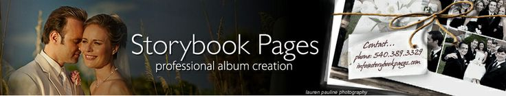 Storybook Pages.....professional custom wedding albums.....(high end prices)