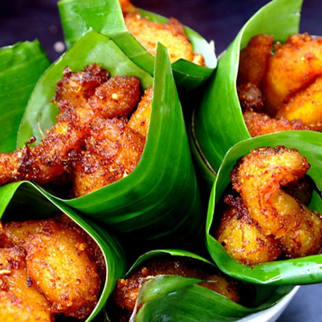 Eclectic Food - Kelewele (Spicy fried plantain)