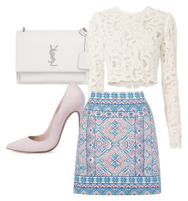 """""""Outfit #644"""" by naleland on Polyvore featuring moda, Yves Saint Laurent, A.L.C., Oasis, Heels i YSL"""