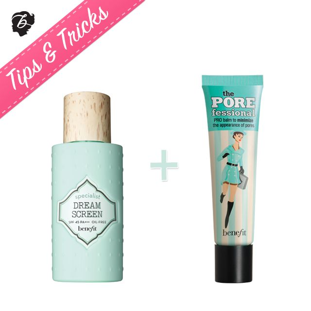 Want lightweight, oil-free  SPF POREtection this weekend? Blend dream screen  the POREfessional all over your face for an instantly silky-smooth finish. Hello, sunshine! #tipsandtricks #benefitcosmetics