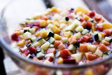 macedónia de fruta