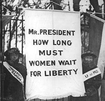 .. ratification of the 19 th amendment guaranteeing women the right to