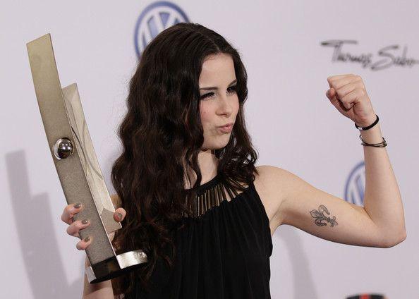 Lena Meyer-Landrut Artistic Design Tattoo