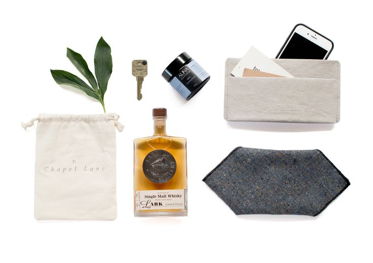 Old Fashioned his Chérir Box Contains  Essent'ial  Smart Phone and Card Case - 31 Chapel Lane Donegal Tweed Pocket Square- Alina Beauty Studio Men Purifying Scrub 60G - Lark Distillery Single Malt Whisky 100ml Despite its high strength, this Single Malt Whisky at 58% ABV.