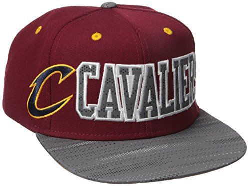 NBA Cleveland Cavaliers Mens Surface Snapback Hat One Size Maroon ** You can find out more details at the link of the image.