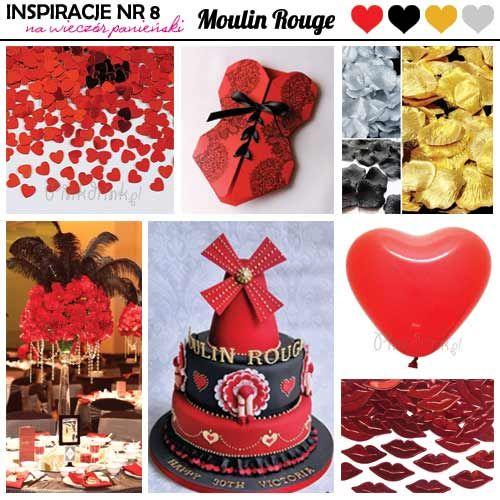 pomysły na wieczór panieński moulin rouge