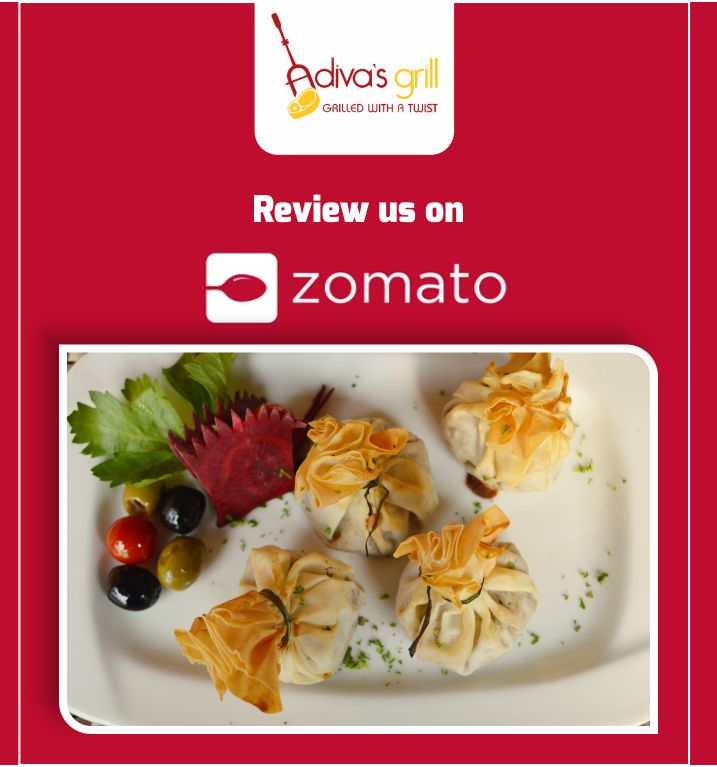 Express your love for food. Review us on zomato and share your love.