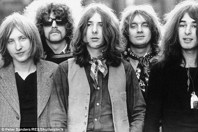 Big hitters: A native of Ross-on-Wye, Dale (left) was a founding member of Mott the Hoople, which took its name from a British novel of the 1960s and featured singer Ian Hunter and guitarist Mick Ralphs