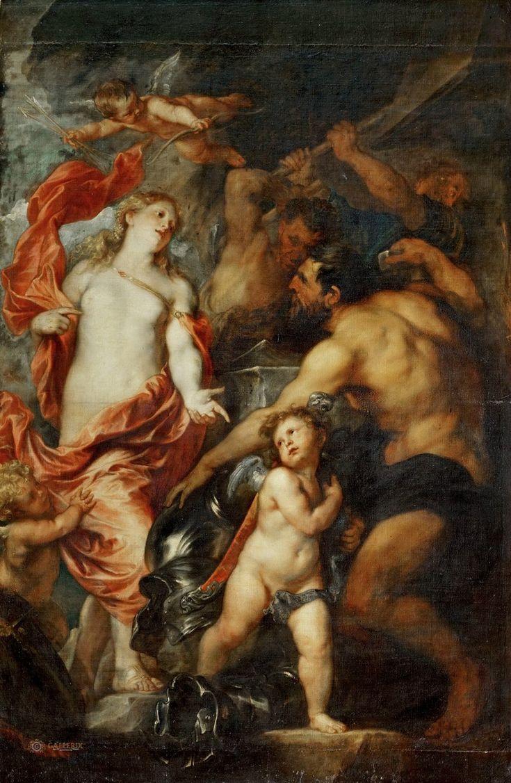 Sir Anthony van Dyck (Антонис ван Дейк, Flemish painter, 1599–1641) \2\. Обсуждение на LiveInternet - Российский Сервис Онлайн-Дневников Дейк, Антонис ван (1599 Антверпен - 1641 Лондон) Венера в кузнице Вулкана Лувр.