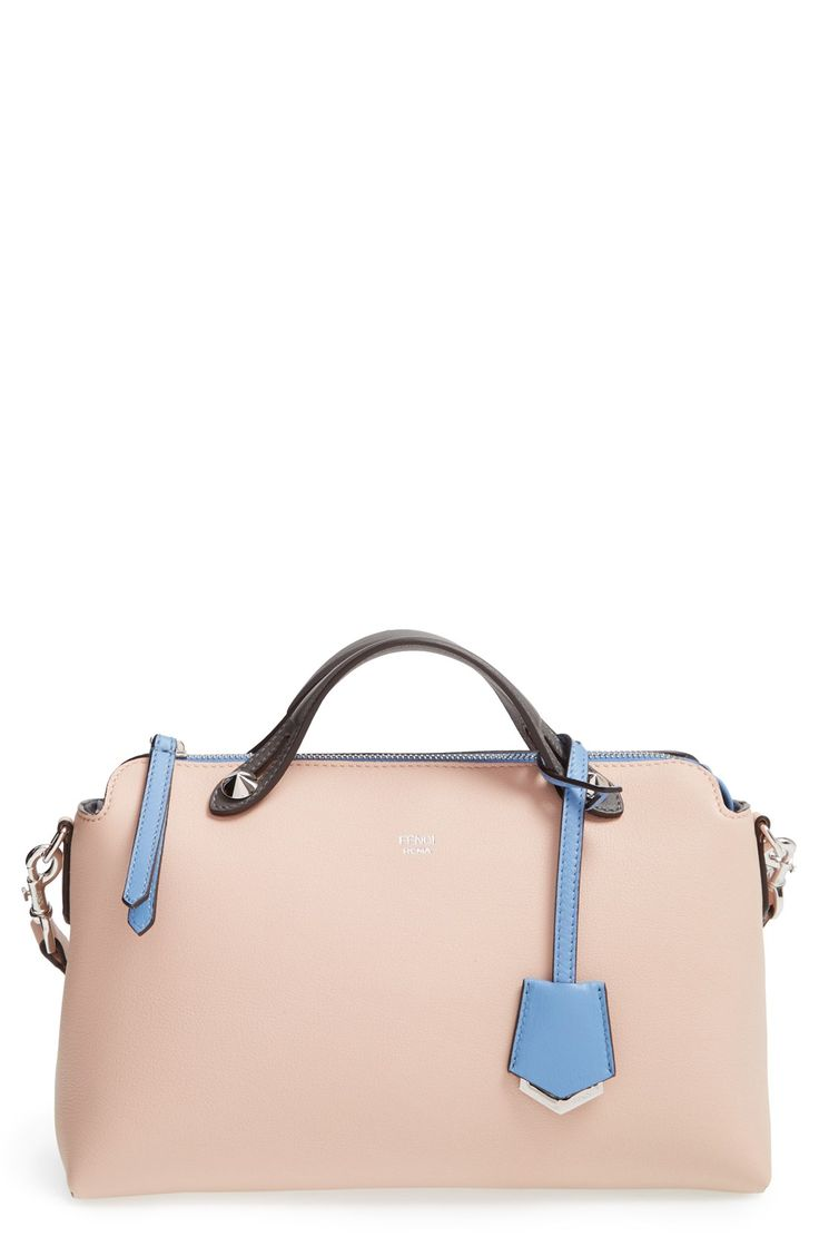Adding this pastel, color-blocked Fendi bag to the wish list.