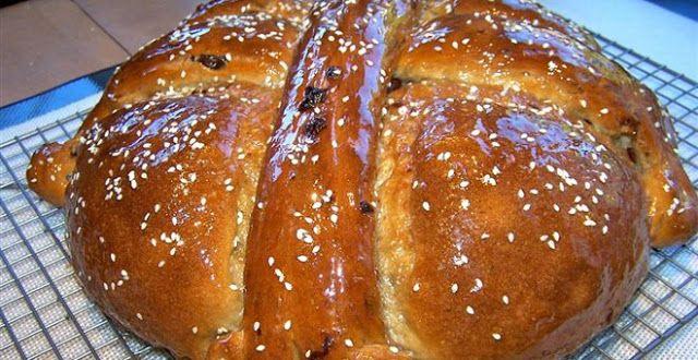 Χριστόψωμο 180 κιλών παρασκευάστηκε στην Αρναία Χαλκιδικής